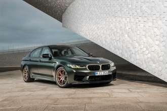 The new BMW M5 CS (01/2021).