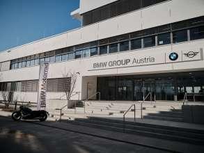 Außenaufnahme BMW Group Campus Salzburg  (02/2021)