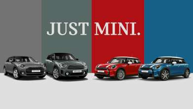 JUST MINI: special offer for driving new MINI (02/2021)