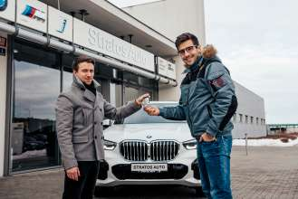 Martin Macík jr. is new BMW ambassador in the Czech Republic. (02/2021)