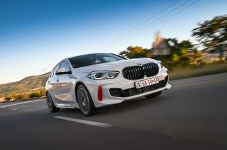 The new BMW 128ti in South Africa.  (02/2021)