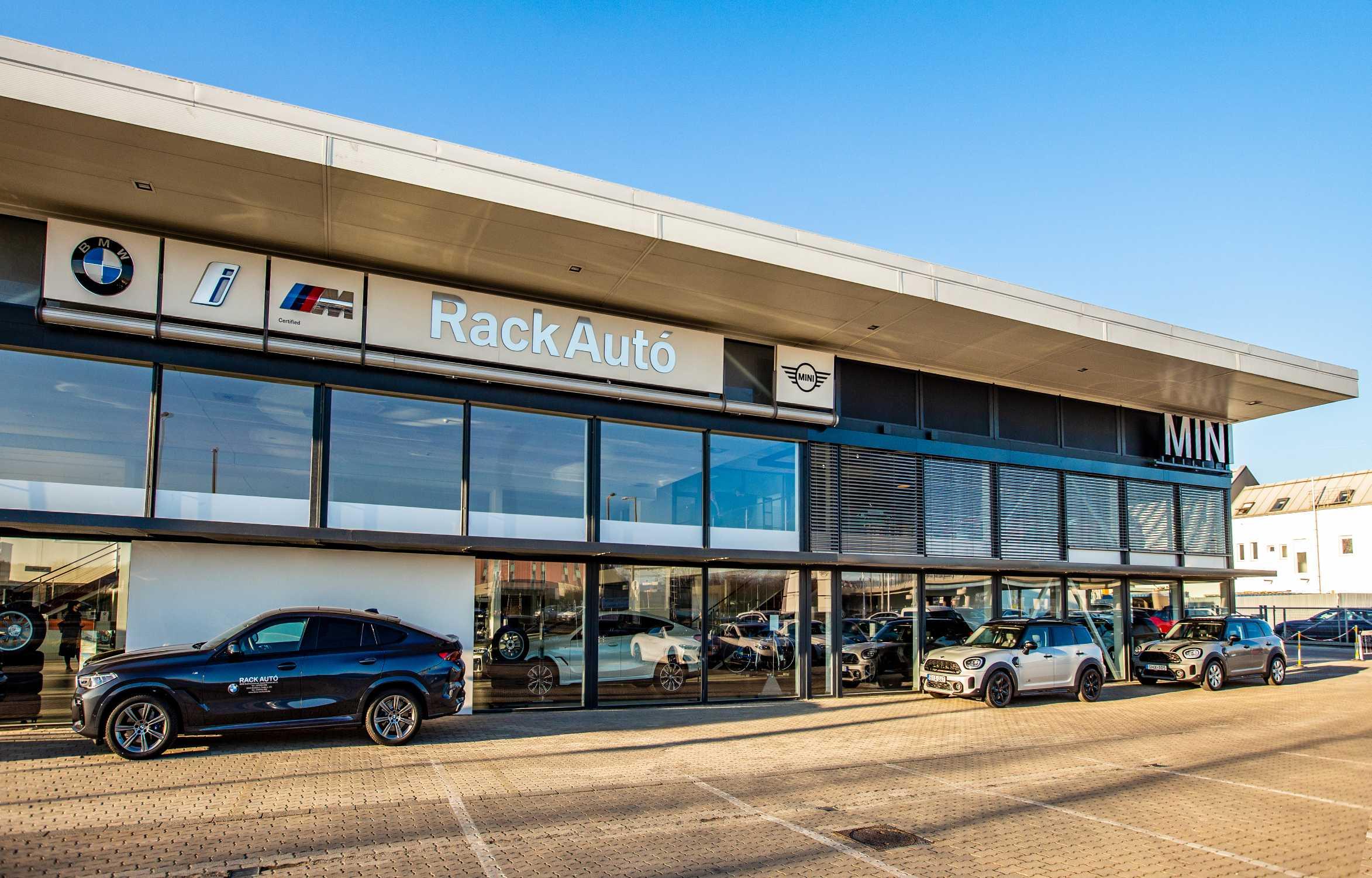 Rack Auto Opens Mini Showroom In Budaors 03 2021
