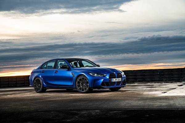 The New Bmw M3 Competition Sedan And The New Bmw M4 Competition Coupé Additional Pictures And Footage