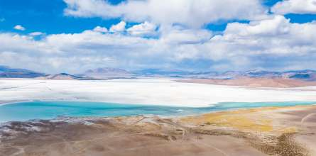 View of the salt lake Salar del Hombre Muerto in northern Argentina. Responsible extraction of lithium by Livent. ©Livent (03/2021)