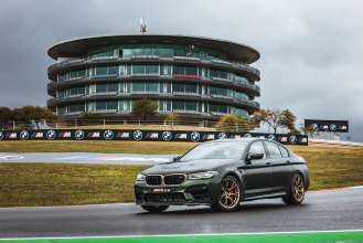 BMW M Award in MotoGP™: The new BMW M5 CS is the spectacular winner's car for 2021.