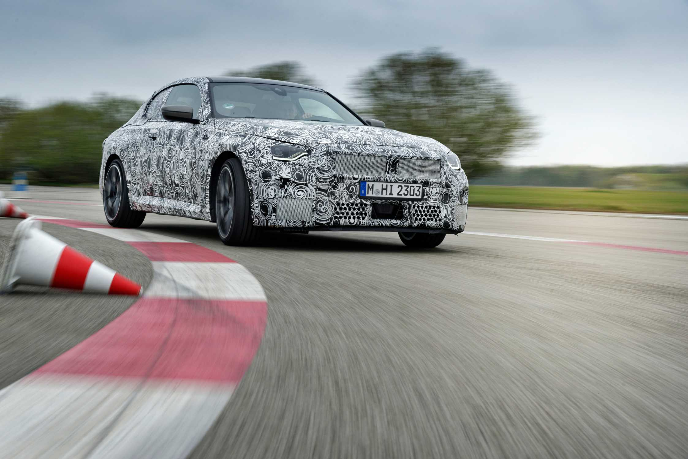 The all-new BMW 2 Series Coupé -prototype testing. (05/2021)