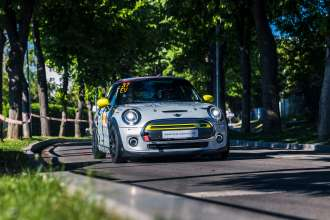 Mangalia, Romania, Super Rally Stage 1, 2021, Vitesco Technologies MINI Electric Racing, photographer Attila Szabo. (05/2021)