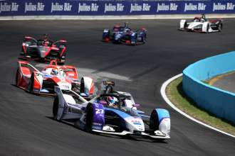 Both BMW i Andretti Motorsport drivers finish in the points at Sunday's race in Mexico.