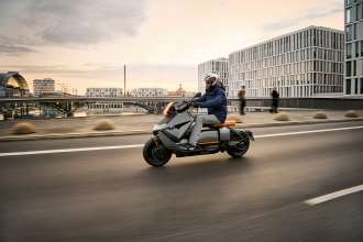 The new BMW CE 04 - the silent revolution (07/2021).