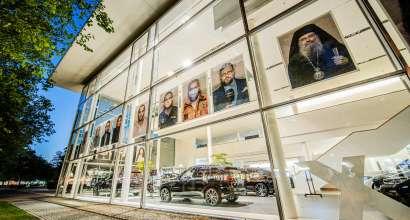 """Carsten Sander: """"Faces of Europe"""" in Kooperation mit der BMW Niederlassung München, 2021. © Carsten Sander (07/2021)"""