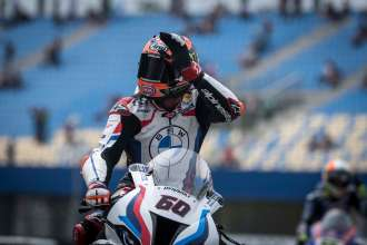 Mixed feelings for BMW Motorrad Motorsport on WorldSBK Saturday at Assen.