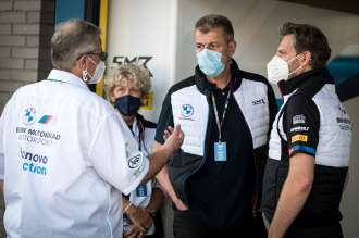 Bonovo action BMW Racing Team to line up with Eugene Laverty and Loris Baz in the 2022 WorldSBK.