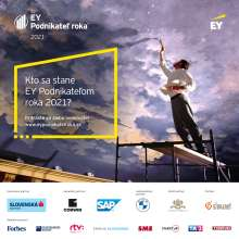 BMW partner of the EY Entrepreneur of the Year 2021 Award in the Slovak Republic (09/2021)