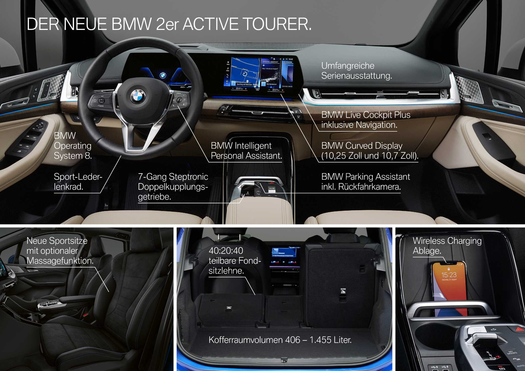 Der neue BMW Active Tourer - Highlights (10/2021).