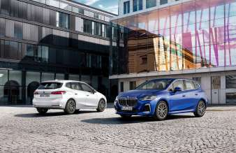 The all-new BMW 223i Active Tourer and the all-new BMW 230e xDrive Active Tourer (10/2021).