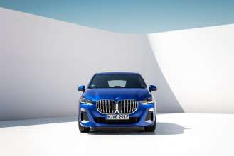 The all-new BMW 230e xDrive Active Tourer (10/2021).