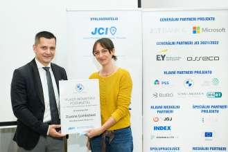 BMW Slovak Republic Award for Sustainability and Innovations – project JCI Slovakia Young innovative businessman 2021 Award. (09/2021)