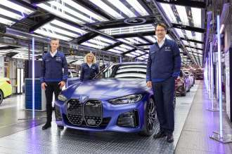 BMW Group Plant Munich goes fully electric