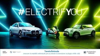 """Tavola Rotonda """"Innovare la mobilità individuale per accelerare la transizione ecologica delle città"""", organizzata da BMW Italia in partnership con The European House Ambrosetti"""