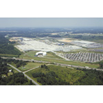BMW Plant Spartanburg South Carolina, USA - Arial view of BMW Manufacturing