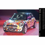 Charity MINI designed by Missoni at the Life Ball 2003 (05/2003)