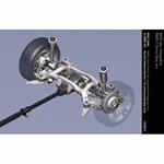 BMW 6 Series: Rear axle (10/2003)