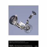BMW 6 Series: Front axle and steering system (10/2003)