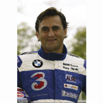 Monza Racetrack, 25.09.2003. Press Meeting with Alessandro Zanardi. He made a few promotional laps at the wheel of the BMW 320i, especially modified (09/2003)