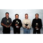MINI Race Challenge, Kategoriensieger, Brunner, Sieber, Bolle, Marending (10/2003)