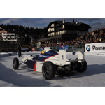 6th December 2003 Seefeld Austria. Ralf Schumacher BMW WilliamsF1 Team driver 2003 drives a Formula BMW on the Ice (01/2004)