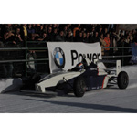 6th December 2003 Seefeld Austria. Jörg Müller drives a Formula BMW on the ice (01/2004)