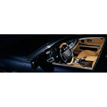 BMW Individual 7 Series. Paint finish: Blue Onyx metallic - Leather: Merino Caramel - Interior trim strips: Piano Finish Black (02/2004)