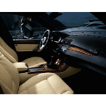 BMW Individual X5 with Maritime Equipment. Leather: Merino Champagne - Interior trim strips: Mahogany (02/2004)