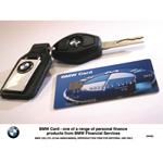 BMW Card - one of a range of personal finance products from BMW Financial Services (05/2006)
