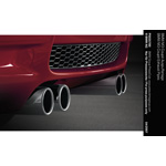 BMW M3 Coupé Exhaust Pipes (03/2007)