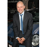 "World Premiere ""The Heartbreak Kid"" in Los Angeles: Actor Rob Corddry aka ""Mac"" in front of the Original MINI Cooper Cabrio from the film (09/2007)"