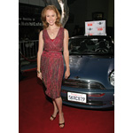 "World Premiere ""The Heartbreak Kid"" in Los Angeles: Actress Amy Sloan aka ""Deborah"" in front of the Original MINI Cooper Cabrio from the film (09/2007)"