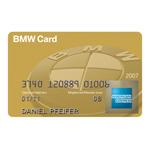 Die neue BMW Card Gold von American Express (01/2008)