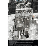 BMW 6 cylinder diesel engine with Aluminium-Crankcase and 1800 bar Piezo-Injection(07/2008)