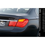 The new BMW 7 Series, BMW 730d, Rear Light (07/2008)