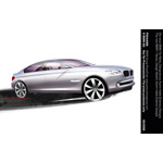 The new BMW 7 Series, Design Sketch, Karim Habib (Exterior Design) (07/2008)
