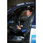 Orly Terranova dentro de la BMW X3 CC (03/2008)