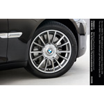 The new BMW 7 Series. BMW Individual Light Alloy Wheels V-Spoke 228I (09/2008)