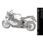 BMW K 1300 S, chassis (10/2008)