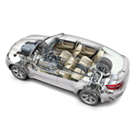 BMW X6 with xDrive and Dynamic Performance Control (09/2008)