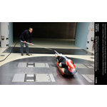 Men' s doubles Patric Leitner and Alexander Resch in the BMW Wind Tunnel (11/2008)