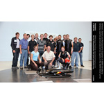 Athletes, coaches and aerodynamics experts in the BMW Wind Tunnel (11/2008)