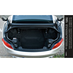 The new BMW Z4 - Luggage compartment with roof closed (12/2008)
