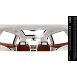 BMW Concept 5 Series Gran Turismo, interior, panorama glass roof (02/2009)