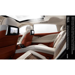 BMW Concept 5 Series Gran Turismo, interior, rear seat (02/2009)